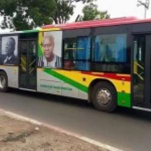 Ministers Sued Over GH¢3.6 m Bus Branding