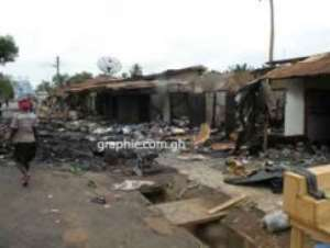 The clashes resulted in casualties and the destruction of property