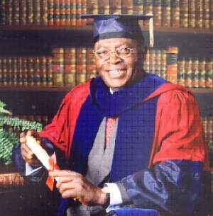 Kantinka  Sir Dr Kwame Donkoh Fordwor  - 80 years on Aug 29
