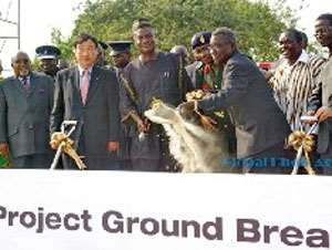 FLASH BACK: Ground broken of the STX housing project at the police training school.