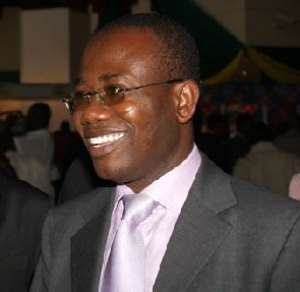 Kwesi Nyantakyi was elected Ghana FA president on December 30, 1995