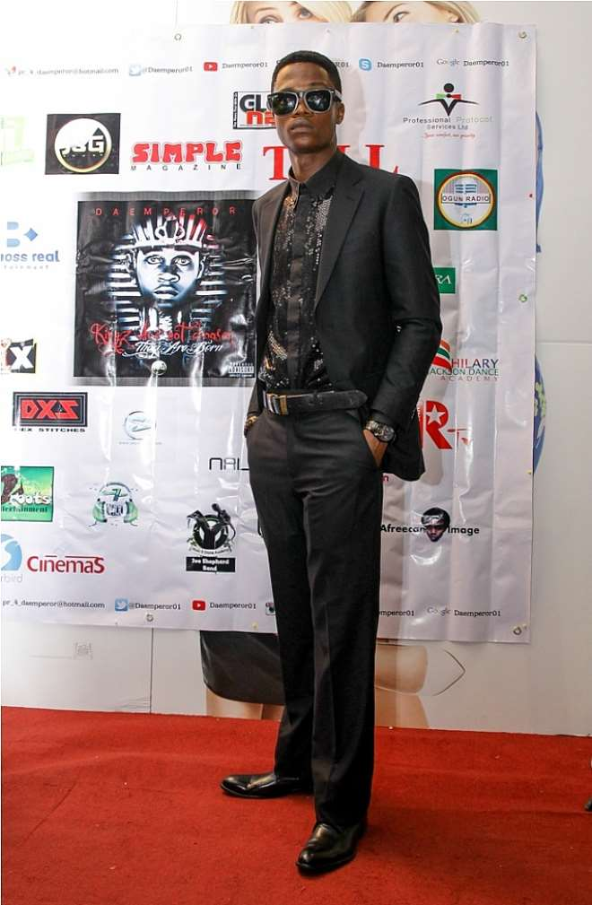 DA EMPEROR ON THE RED CARPET..