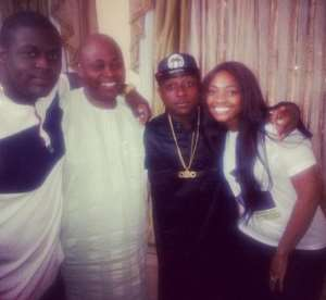 Davido Shares Picture Of Dad At 56 With Siblings