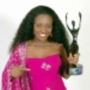 Jackie Appiah at the AMAA in Bayelsa, Nigeria. Photo: GhanaCelebrities.com