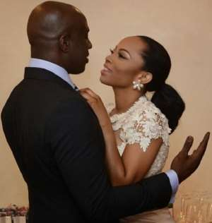 My Husband Is Home Alone;He Isn't Complaining- Toke Makinwa