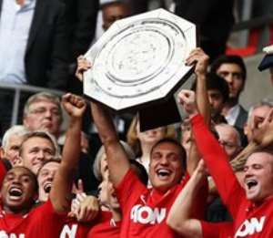 Manchester United have won the Community Shield 19 times