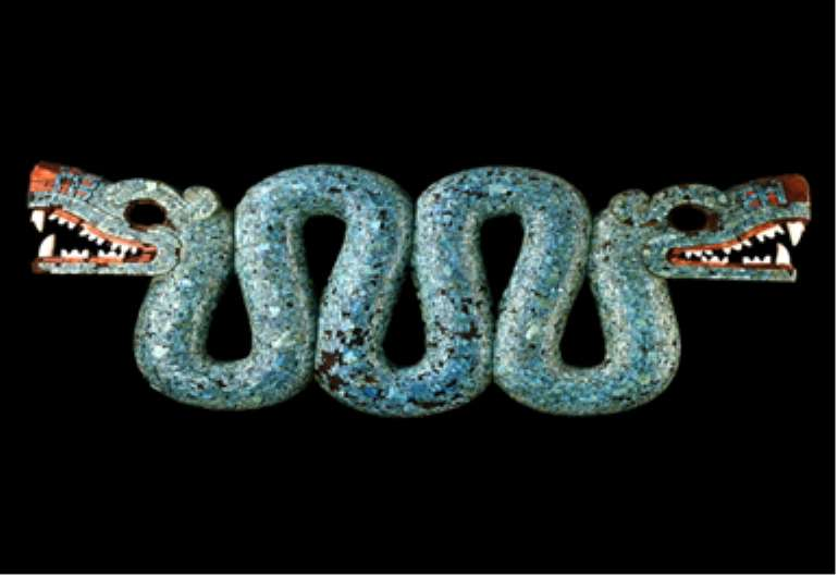 Double-headed serpent, Mexico, now in British Museum .London