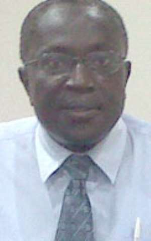 Dr. Kwabena Anaman, IDEG Director of Programmes