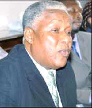 Minister of Employment and Social Welfare, Enoch Teye Mensah