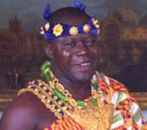 OTUMFUO NANA OSEI TUTU II KING OF THE ASHANTI KINGDOM