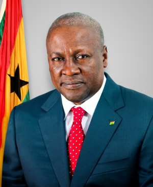 My government's fight against corruption unparalleled - President Mahama declares.