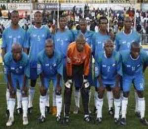The Lesotho national team