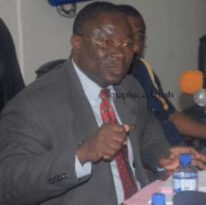 DCOP Prosper Agblor, Director-General of the Criminal Investigations Department is pointing accusing fingers at the trial court where the exhibit was tested and certified to be cocaine but later turned out to be sodium carbonate