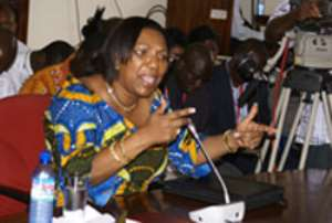Mrs. Betty Mould Iddrisu, Minister for Justice & Attorney General
