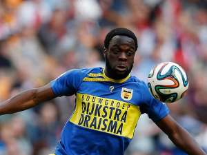 Elvis Manu insists Cambuur have not yet beat the drop