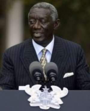 President Kufuor, Others Sued (Woyome)