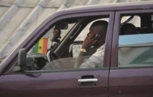 phoning while driving banned