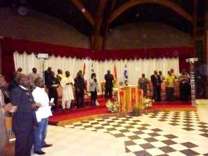 The Ghanaian Community of Montreal Holds a Thanksgiving Service