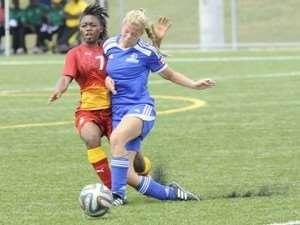 Ghana's U20 women brush aside Burlington Bayhawks in pre-World Cup friendly