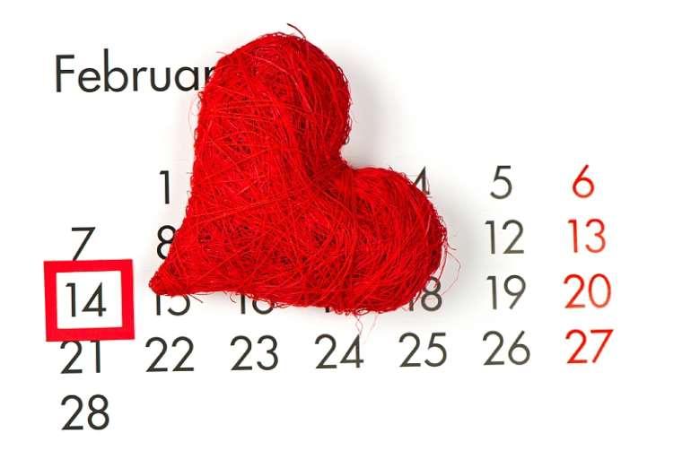 february14calendarvalentinesday
