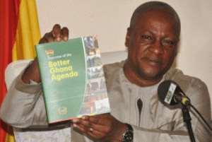 Vice-President Mahama launching the book