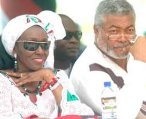 If the NDC is in the ditch, where are the Rawlingses?