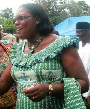 Principal of Fomena CHNT, Mrs. Banful Mante