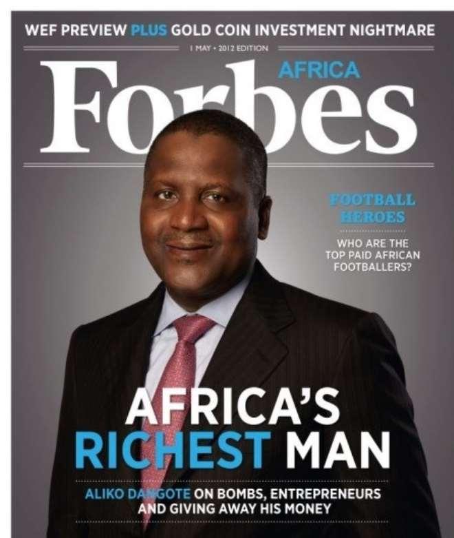 FORBES AFRICA'S RICHEST MAN