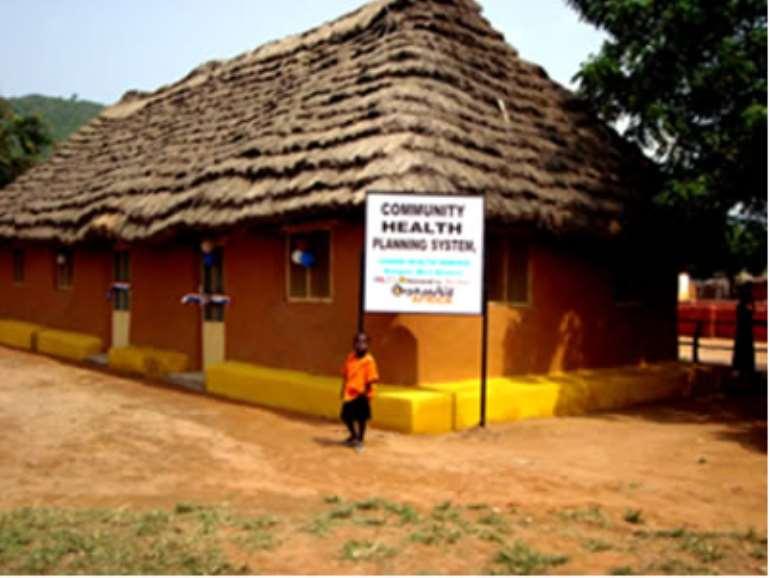 The new Health Facility at Ahienya