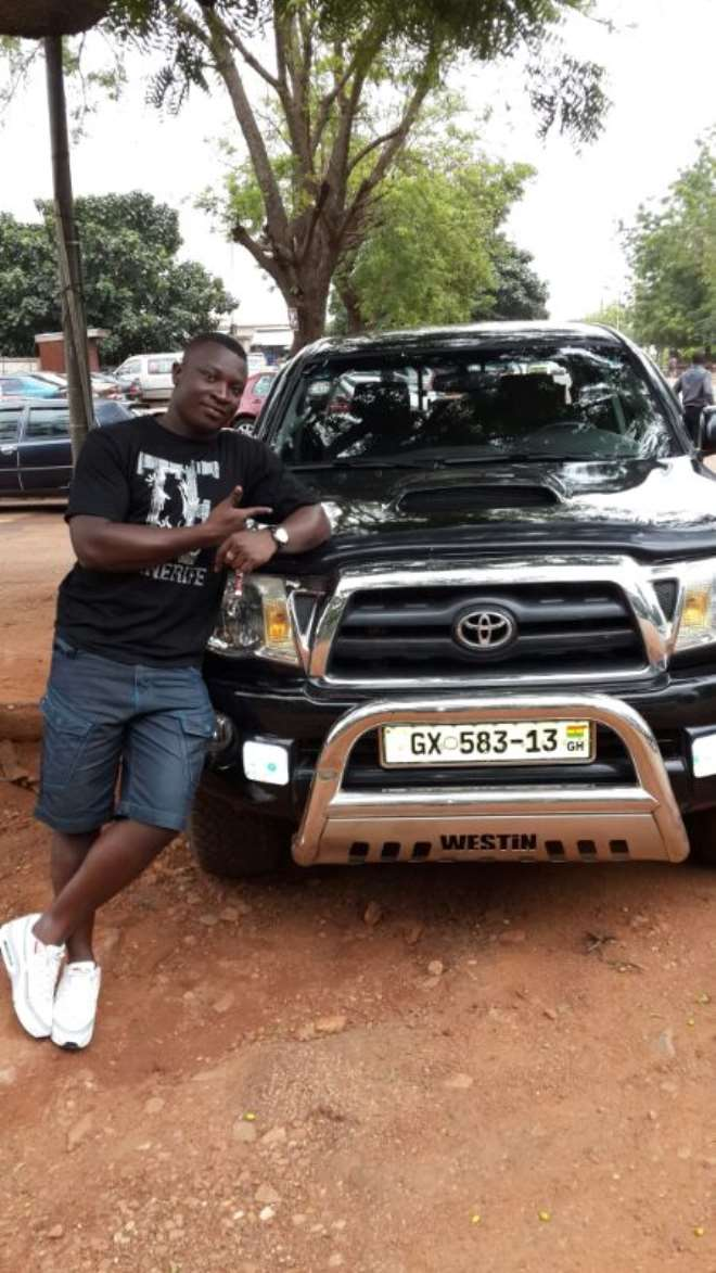 FRED YEBOAH AND MY CAR