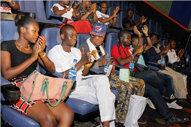 GUESTS AT 'PARA MODE' MUSIC VIDEO PREMIERE BEING ENTERTAINED