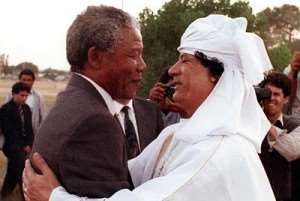 Gaddafi was very helpful in the fight against Apatheid in South Africa