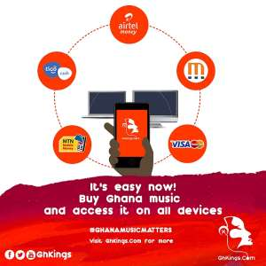 GhKings Launches Ghana's First Successful On - line Music Store