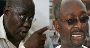 Nana Akufo-Addo and Alfred Agbesi Woyome