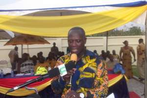 ABUAKWA GETS NEW ECG COMPLEX DISTRICT OFFICE
