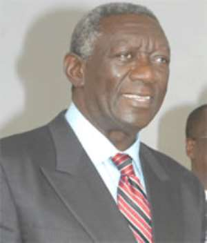 Bernard Mensah Kufuor was the uncle of former President John Agyekum Kufuor