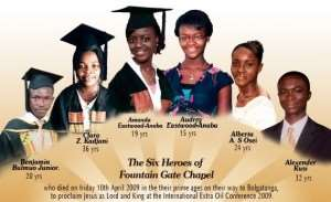 Rev Eastwood-Anaba's girls, two others laid to rest