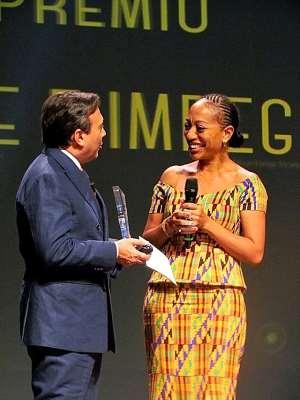 "Samia Nkrumah Awarded The ""GrandPrix"" Italia"