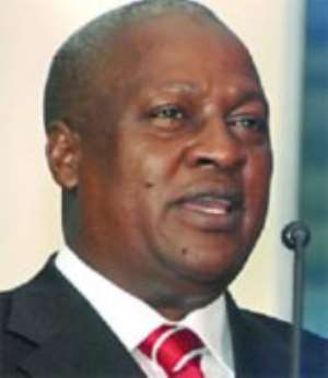 Vice-President, Mr John Dramani Mahama