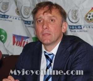 Coach Goran Stevanovic