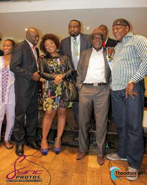 Team Nigeria Olympic Welcome Dinner in London - 08 July 2012