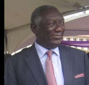 Provision of water and sanitation for all is possible - Kufuor