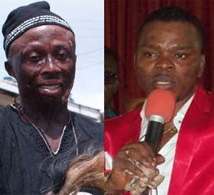 Kwaku Bonsam and Bishop Obinim
