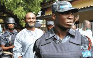 Flashback: Kennedy Agyapong being led to court