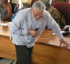 Former President Rawlings is Suffering from Indecision Syndrome
