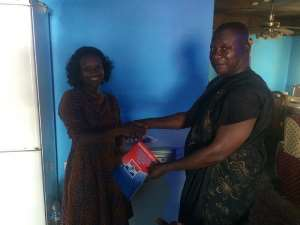 MP Abena Osei Asare Picks Nomination Forms