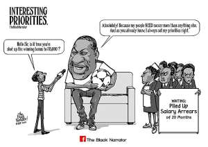 Photo Of The Day: A Test Case Of Misplaced Priorities