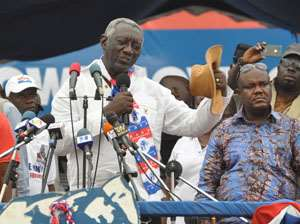 J.A Kufuor former president