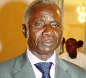 National Security Advisor Brigadier General Joseph Nunoo Mensah (retired)