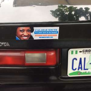 Cross Rivers State Indigenes Campaigns For Kate Henshaw With Posters